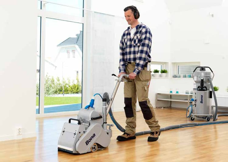 BONA FLOOR SANDING MAN NEW