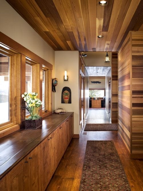 Wood Floors The Ceiling Reasons This Trend May